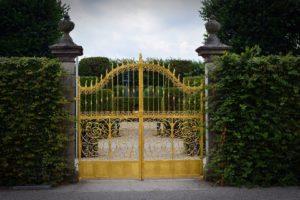 Objectif, Portail, Or, Herrenhäuser Jardins, Hanovre